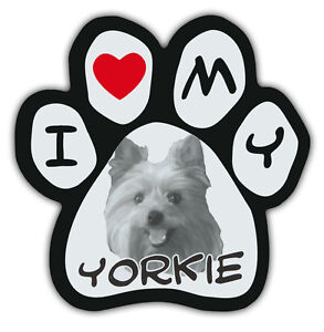 West Highland Terrier I Love My Westie Cars Pink Dog Bone Shaped Magnets