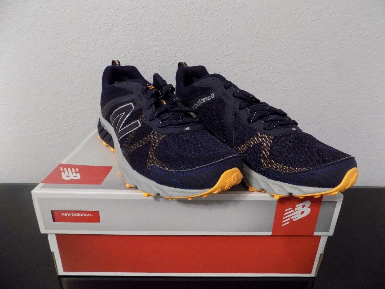 a6e7f26b4a New Balance Mens Mt610RN5 Navy shoes Size 10 NIB running shoes med Running  nunpfj3507-Athletic Shoes