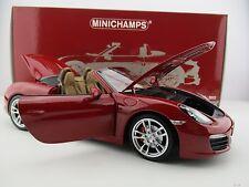 Porsche Boxster S * 2012 * Limitiert auf 504 Stück * Minichamps * 1:18* OVP* NEU