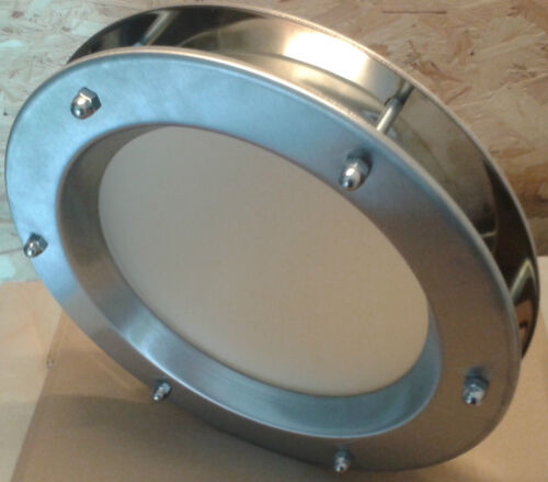STAINLESS STEEL PORTHOLE FOR DOORS phi 350 mm