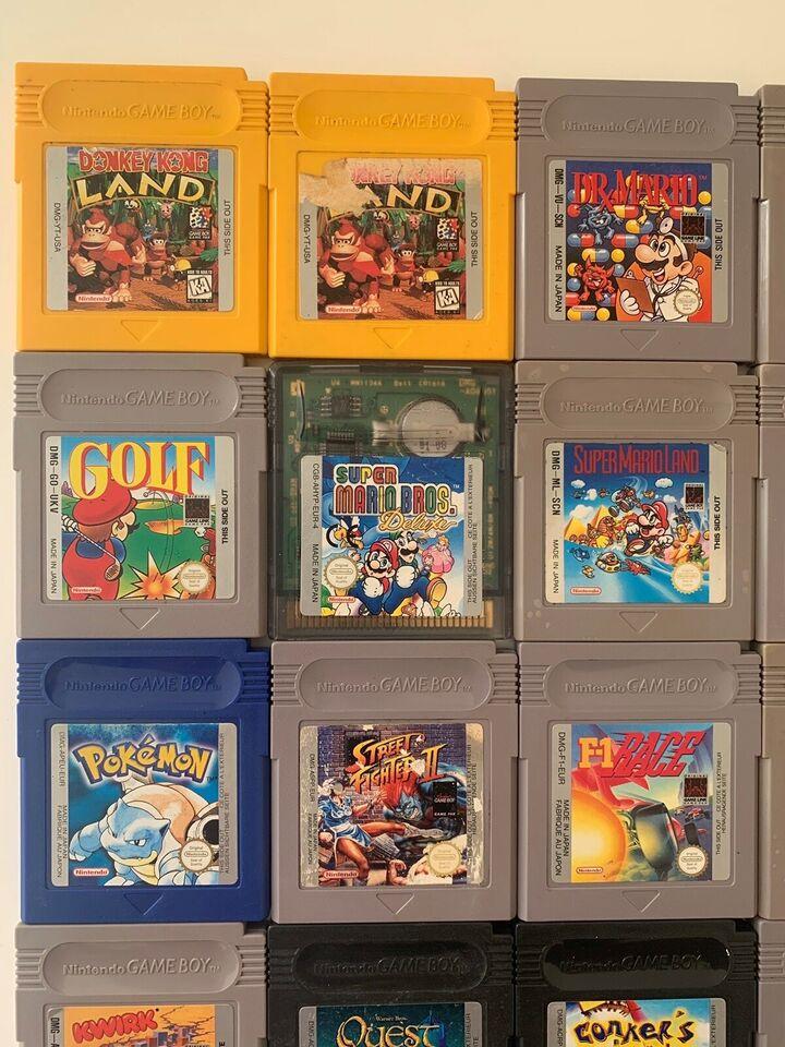 Spil til din gameboy, Gameboy, anden genre