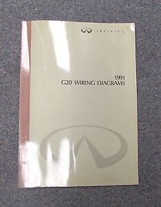 image is loading 1991-infiniti-g20-wiring-diagram-service-manual
