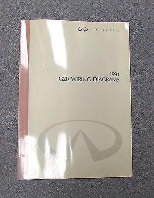 1991 Infiniti G20 Wiring Diagram Service Manual | eBayeBay