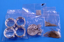 Model Factory Hiro 1/12 Wire Wheel Set for Ferrari 250GTO(4 aluminum wheel rims)