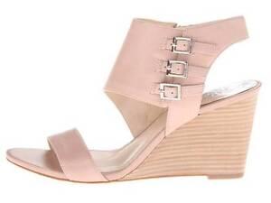 Talons en cuir Lyssia Sandales Camuto compensées pour Nappa Sandbar femmes Vince Chaussures wn0Hx8zAx