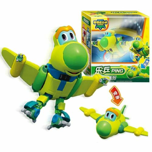 Newest Min  Gogo Dino Deformation Car Airplane Action Dinosaur toys for Gift