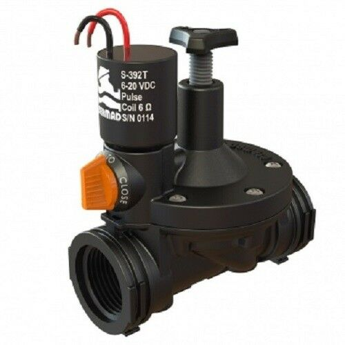 Bermad DC Garden Irrigation 2 Leads Controlled Latch Solenoid 3/4