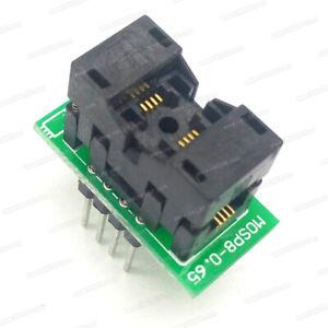 Details about MSOP8-DIP8 Adapter for RT809H RT809F TL866CS A TL866II  EZP2010 EZP2013 TMN5000