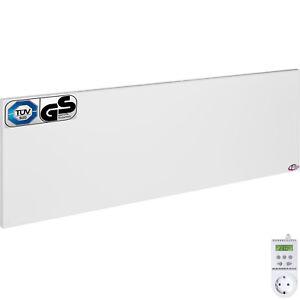 infrarotheizung 510 w elektroheizung heizk rper heizplatte mit thermostat ebay. Black Bedroom Furniture Sets. Home Design Ideas