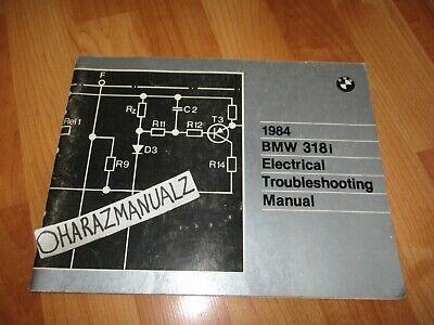 1984 BMW 318i Electrical Troubleshooting Manual | eBay