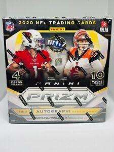 2020 Panini Prizm Football Mega Box Walmart 40 Cards Neon Green Brand New Sealed