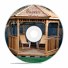 Professional Design Gazebo Plans, 10ft Hexagon Gazebo, How To Build it Yourself