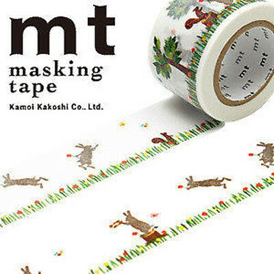 MT Washi Masking Deco Tape EX Rabbit and Squirrel Design