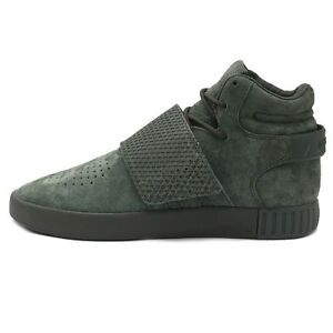 7ea3cea38654 Image is loading Mens-Adidas-Tubular-Invader-Strap-Green-Green-BB1171-