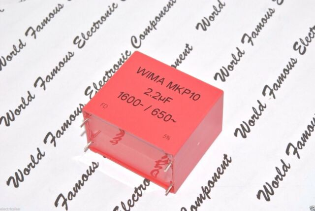 1pcs - WIMA MKP10 2.2uF (2,2µF) 1600V 5% 4-PIN pitch:52.5mm Capacitor