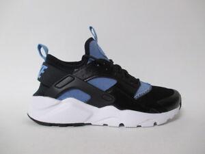 297b43860418 Nike Air Huarache Run Ultra Black Blue White GS Grade School Sz 5.5 ...
