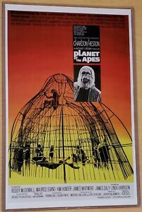 Planet of the Apes 11X17 Movie Poster Charlton Heston Roddy McDowell