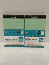 Pen Gear Legal Pads 6 Count 50 Sheets Each Wide Ruled 8 X 5 Multicolor