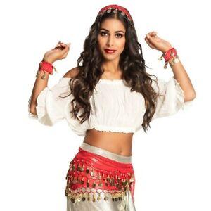 Zigeuner Kostum Set Fur Damen Gypsy Outfit Hellseherin