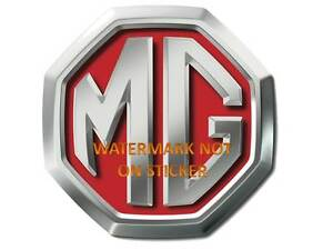 VINTAGE-MG-MGA-MGB-MGF-MGTC-MGTD-TF-DECAL-STICKER-LABEL-240mm-DIA