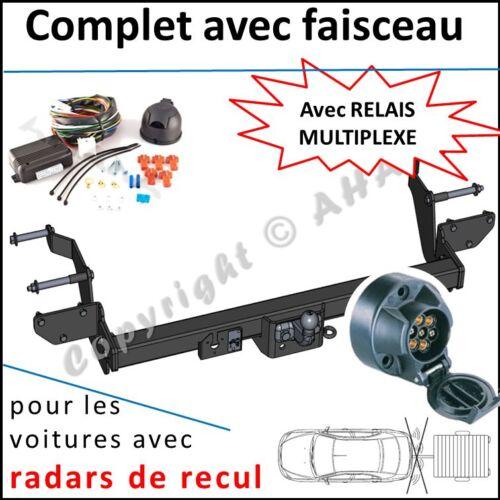 ATTELAGE Peugeot Boxer Plateau L1 L2 L3 2006 faisceau 7br relais radars de recul