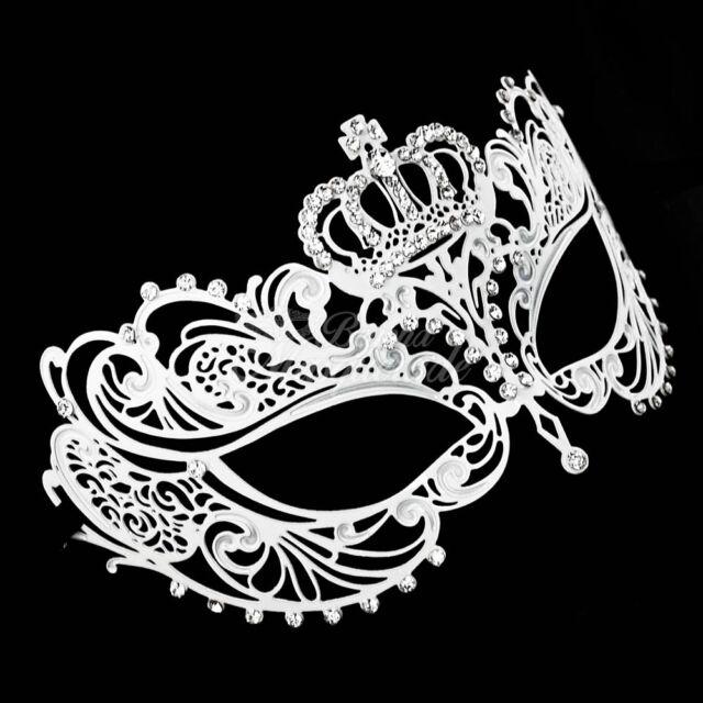 Butterfly Laser Cut Metal Venetian Masquerade Mask for Women M7141 Gold