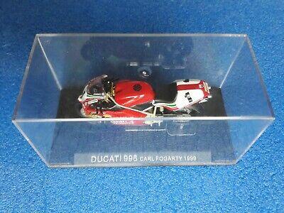 160 Ducati 996 C. Fogarty 1999 Scala 1: 24 Box Cvgm3/19