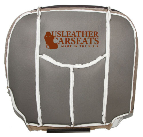 2005 Chevy Suburban Driver Side Bottom Leather Seat Cover Neutral Tan