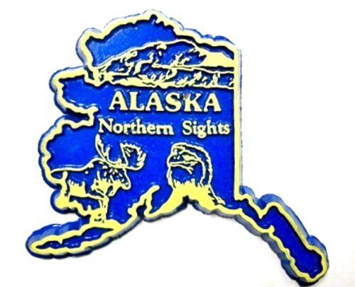 Alaska Northern Sights Fridge Magnet