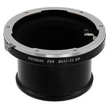 Fotodiox Obiettivo Adattatore per Mamiya 645 (m645) Lente Per Fujifilm x fotocamera