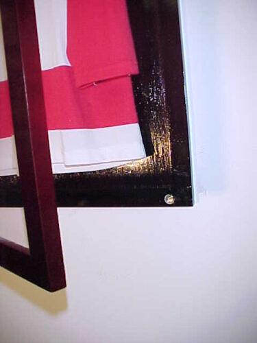 basketball hockey// soccer Sports Jersey Jersey Display Case Cherry baseball