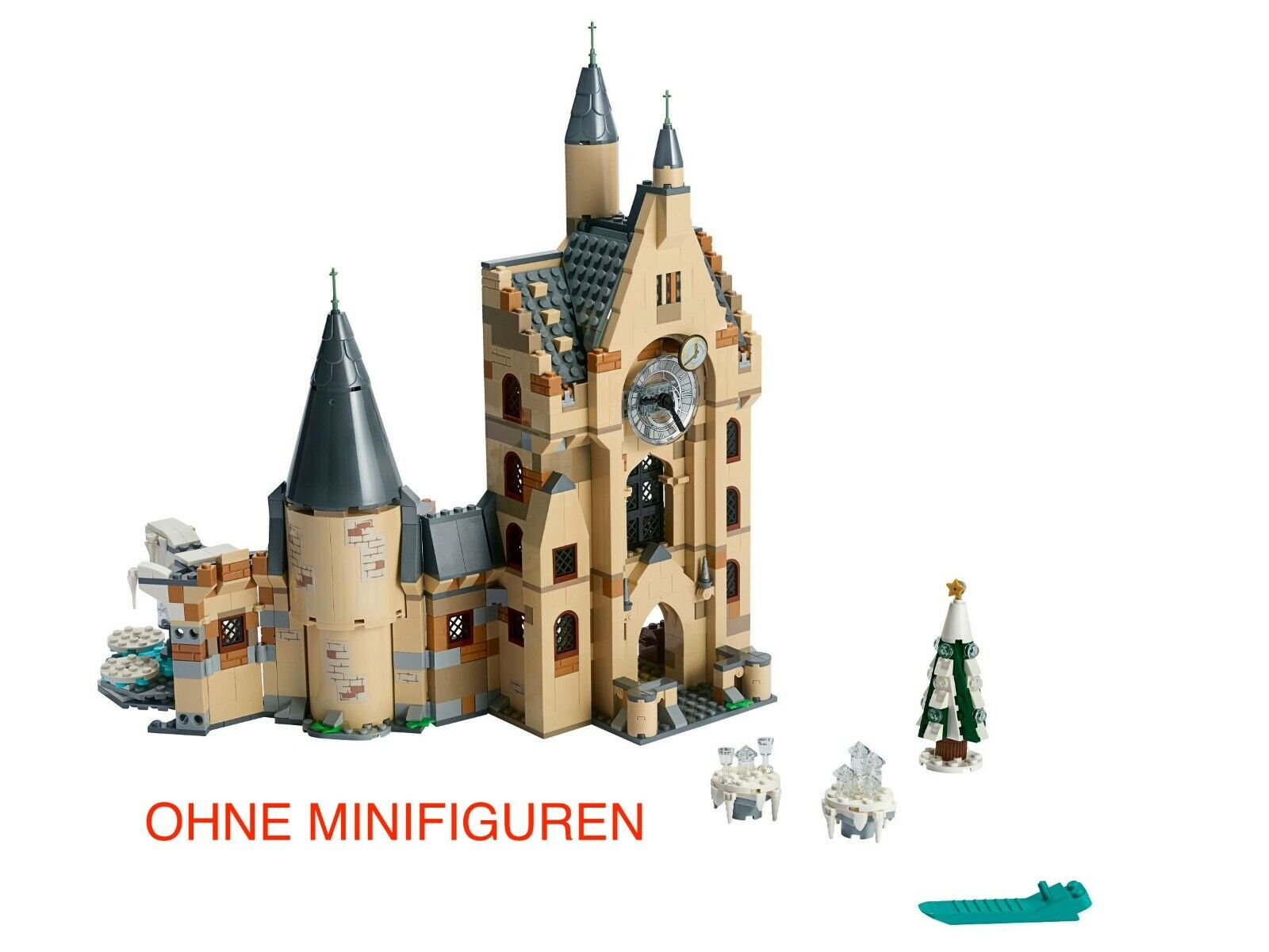 LEGO® Harry Potter – 75948 Hogwarts Uhrenturm Clock Tower NEU OHNE MINIFIGUR BOX