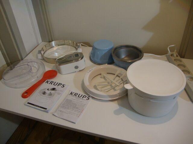 Tidssvarende Ismaskine / Ice Cream Maker, KRUPS – dba.dk – Køb og Salg af Nyt BX-26