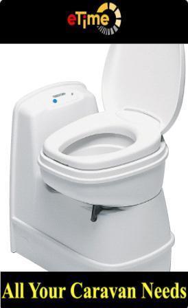 Thetford C200CS Electric Swivel Cassette Toilet for Caravans Motorhome