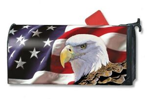 All-American Patriotic Studio M E8 4th of July Outdoor Mailbox Cover MailWrap