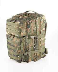 BW Bundeswehrrucksack Bundeswehr Packtasche Flecktarn
