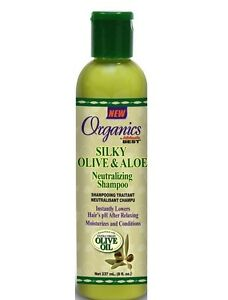 Africa-039-s-Meilleur-Soyeux-Olive-Et-Aloes-Shampoing-Neutralisant-237ml