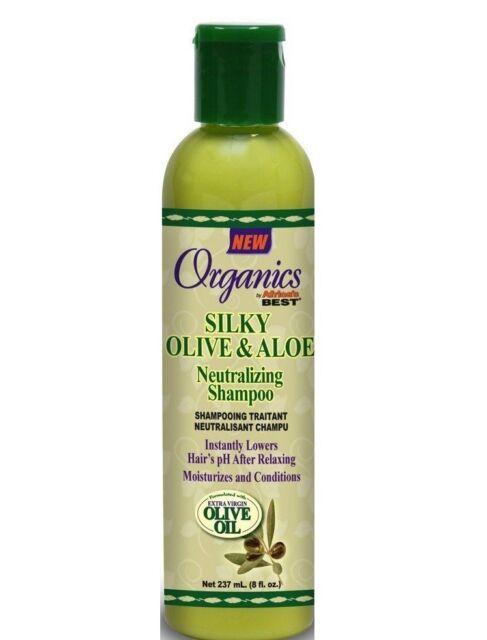 Africa's Best Silky Olive And Aloe Neutralizing Shampoo 237 ml