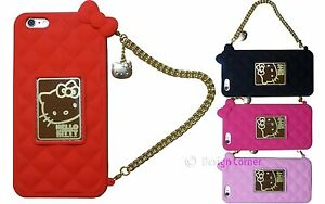 Hello-Kitty-Purse-Case-w-Gold-Chain-amp-Gift-Box-For-iPhone-6-iPhone-6-Plus-Cute