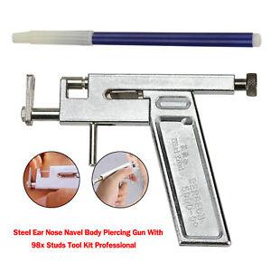 Pistola-per-piercing-all-039-ombelico-in-acciaio-per-naso-all-039-orecchio-utensili