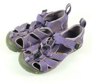 KEEN-Youth-Girls-10-Waterproof-Sport-Sandals-Hiking-Purple