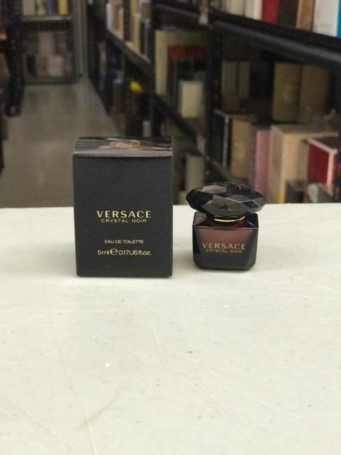 CRYSTAL NOIR by Versace women mini EDT perfume  5 ml