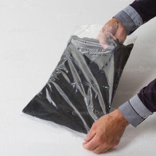 Sachets plastiques transparents SANS fermeture épaisseur fine 25µ