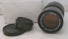 Minolta MD Celtic 135mm 1:3.5 Lens 55mm +End Caps- Japan TESTED