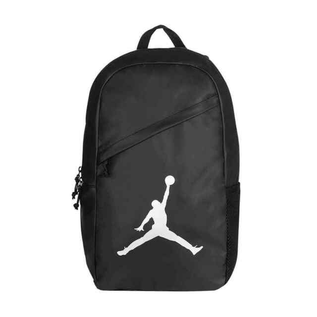 be1d24866d NIKE AIR JORDAN GYM BLACK SILVER JUMPMAN LAPTOP SLEEVE BACKPACK 9A1910 LIGHT  NWT
