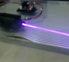 Stable focusable real 200mw 405nm purple laser module with TTL / 9V longlife