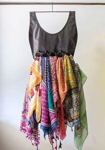 The-Ultimate-Little-Black-Dress-16-Ring-Scarf-Hanger-Organizer-Tie-Hanger