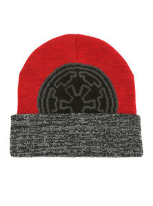 Image is loading STAR-WARS-Galactic-Empire-Intarsia-Watchman-Beanie-Hat- c0a21b8ba963