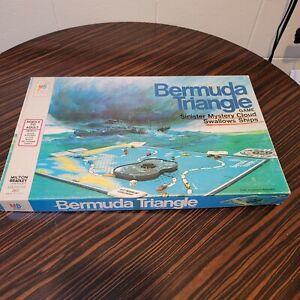 Vintage Bermuda Triangle Board Game Milton Bradley 100% Complete 1975 NOS Sealed