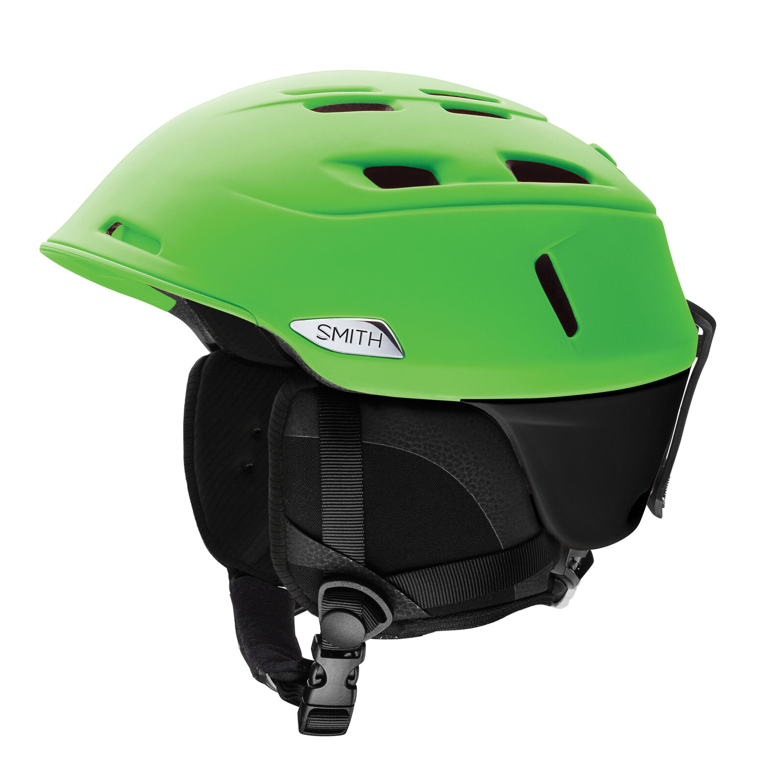 Smith Skihelm Snowboardhelm CAMBER hellgreen leicht Unifarben   quick answers